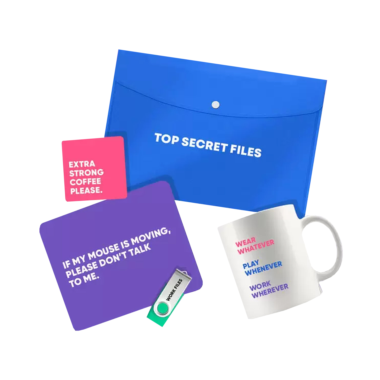 working from home kits for your staff and colleagues