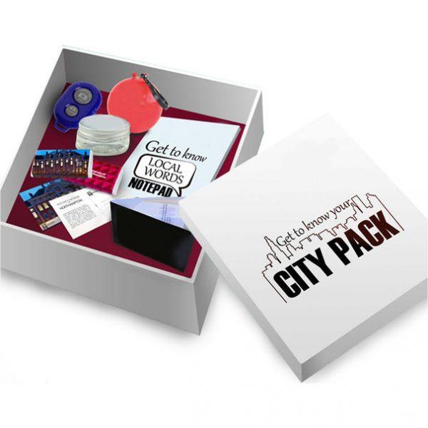 branded exploring city kit