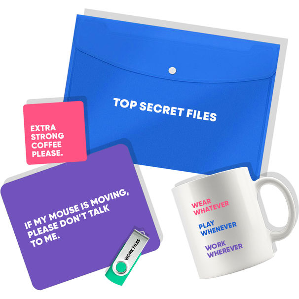 student kits working at home essential kit