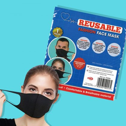 PPE REUSABLE STRETCHABLE SPANDEX FACE MASKS