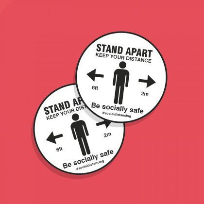 ANTI SLIP FLOOR STICKERS