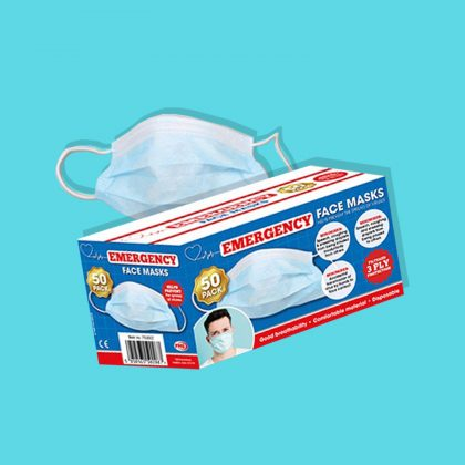 DISPOSABLE EMERGENCY MASKS