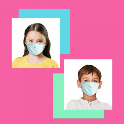 DISPOSABLE KIDS FACE MASKS