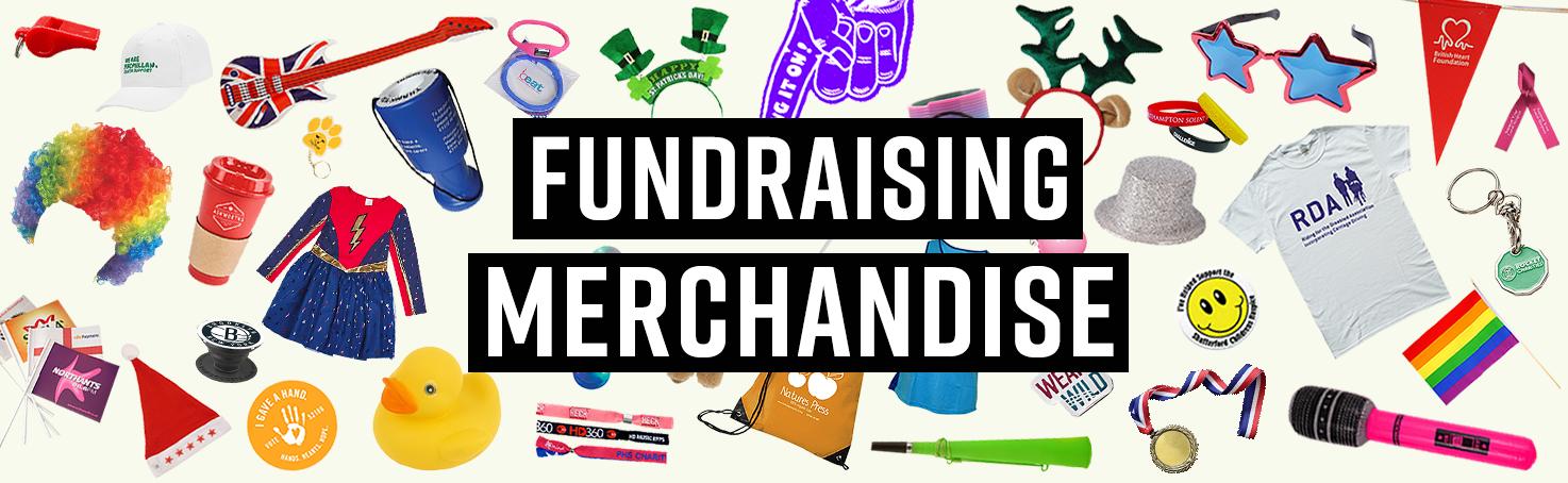 fundraising merchandise banner
