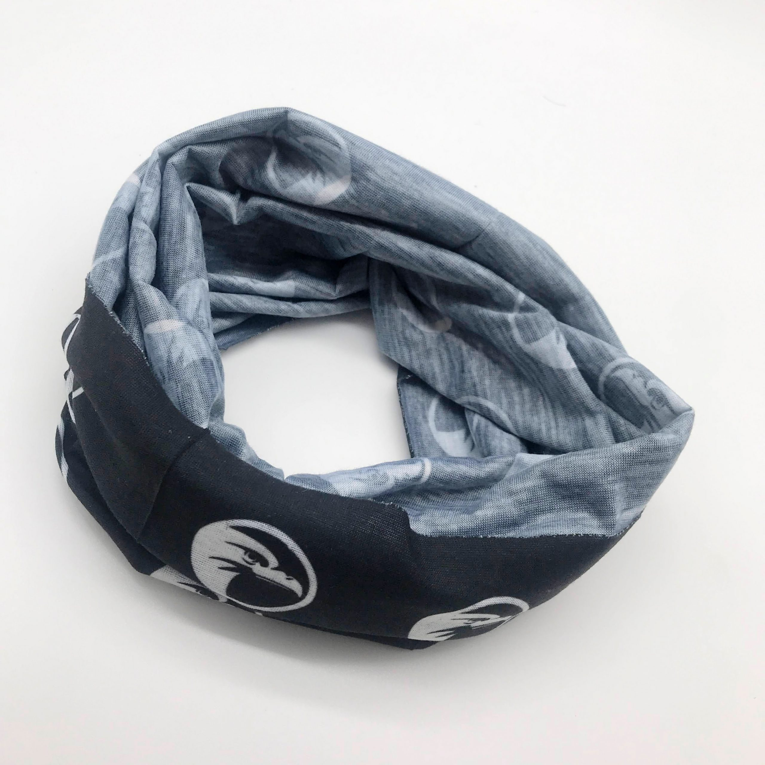 branded snood bandana's
