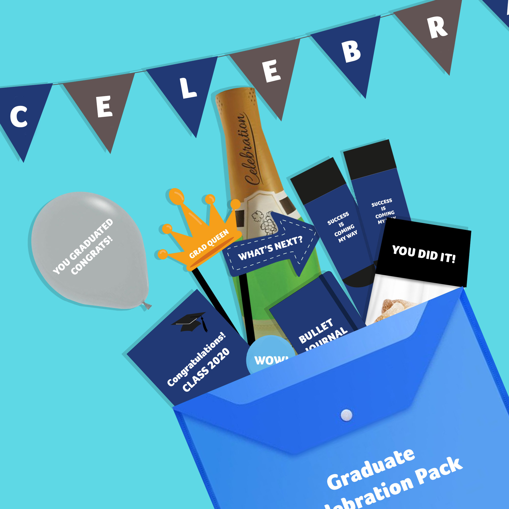 celebrate with virtual merchandise