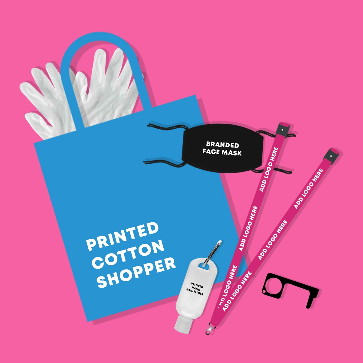 branded merchandise for virtual campaigns