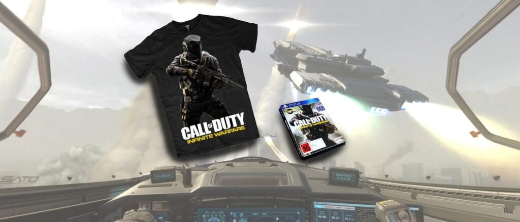 Compressed Call of Duoty T-Shirt