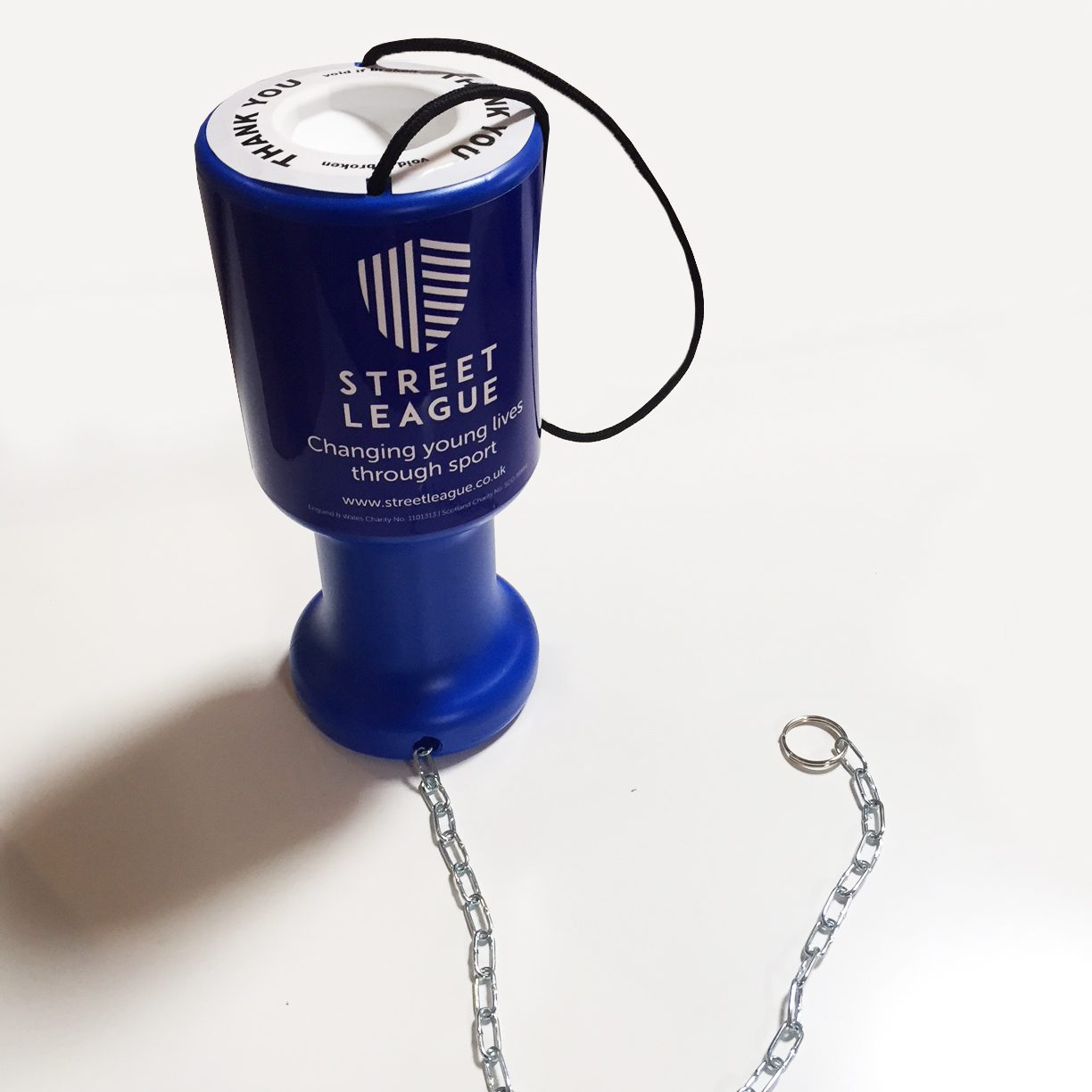 charity and fundraising banner moneybox