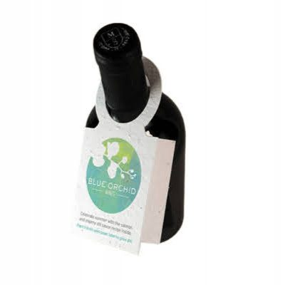 seeded paper wine bottle tags